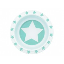 Pimpalou Anti-Rutsch Schale STERN mint