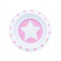 Pimpalou Anti-Rutsch Schale STERN rosa