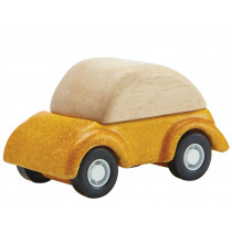 Plantoys Mini Holzauto KÄFER gelb