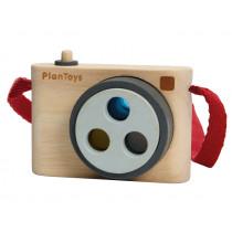 PlanToys Kamera aus Holz NATUR