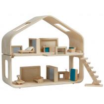 PlanToys Puppenhaus aus Holz MODERN