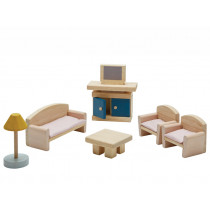 PlanToys Puppenhaus Wohnzimmer ORCHARD