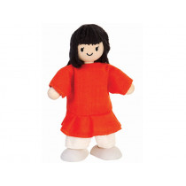 PlanToys Puppenfamilie MÄDCHEN