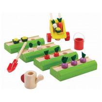PlanToys Puppenhaus Gemüse-Garten