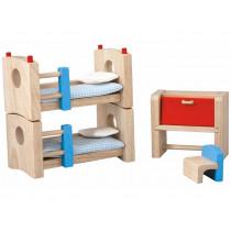 PlanToys Puppenhaus Kinderzimmer NEO
