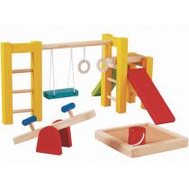 PlanToys Puppenhaus Spielplatz