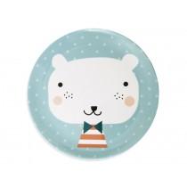 Melaminteller Bär von Petit Monkey