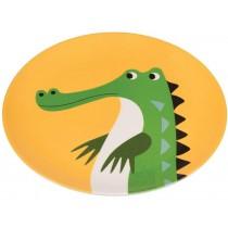 Rex London Melaminteller Krokodil