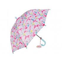 Rex London Kinder-Regenschirm Flamingo