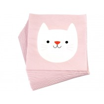 Rex London Papier Servietten KATZE