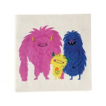 Rex London Papier Servietten MONSTER