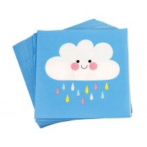 Rex London Papier Servietten WOLKE