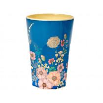 RICE Latte Macchiato Becher FLOWER COLLAGE