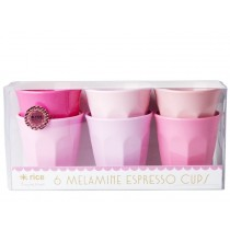 RICE Melamin Espresso Becher SOP Farben