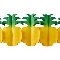 RICE Papiergirlande Ananas