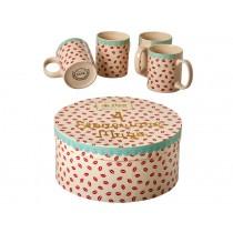 RICE Keramikbecher Kiss Geschenkbox