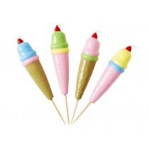 RICE 4 Kerzen Eiscreme