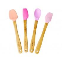 RICE Küchenspatel 4er Set SOP Farben