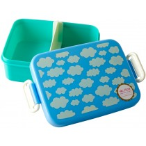 RICE Lunchbox WOLKEN blau