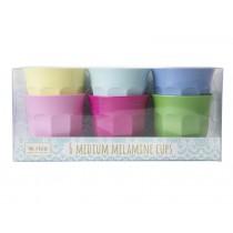 RICE Melamin Becher CLASSIC Farben