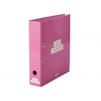 RICE Ringbuch Sterne pink