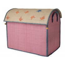 RICE Aufbewahrungskorb OZEAN pink (large)