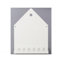 Roommate Magnettafel & Garderobe VILLA weiß