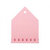 Roommate Magnettafel & Garderobe VILLA rosa