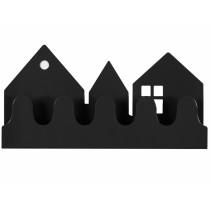 Roommate Garderobe VILLAGE schwarz