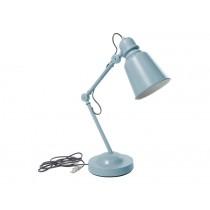 Sebra Schreibtisch-Lampe metall wolkenblau
