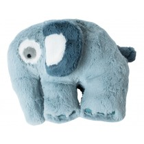 Sebra Plüsch-Elefant wolkenblau
