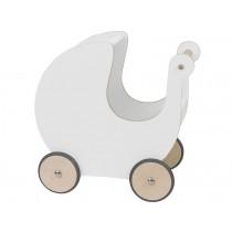 Sebra Puppenwagen weiß