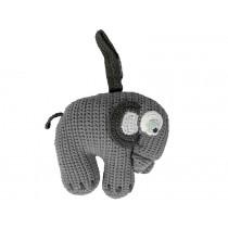 Sebra Spieluhr Elefant grau