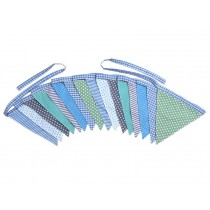 Sindibaba Wimpelkette blau