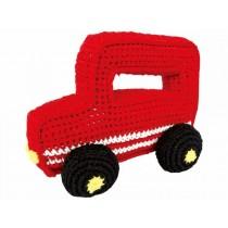 Sindibaba Geländewagen gehäkelt rot