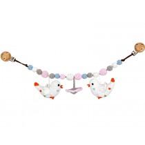 Sindibaba Kinderwagenkette VÖGEL Blume