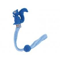 Sindibaba Schnullerhalter Eichhörnchen blau