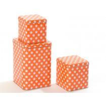 Smallstuff Metallbox Sterne orange