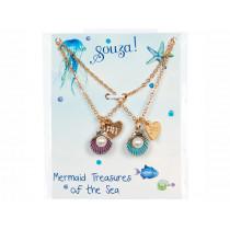 Souza Freundschafts Halsketten Set MUSCHELN Ronja