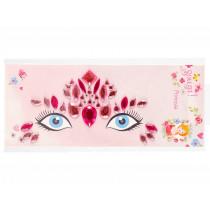 Souza Gesicht Schmuck Sticker Set PRINZESSIN Pink