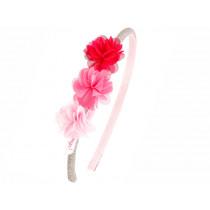 Souza Haarreif LEYDA mit Blüten pink