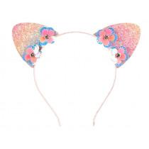 Souza Haarreif LEILA mit Ohren rosa