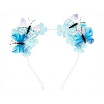 Souza Haarreifen SCOTTIE Schmetterling blau