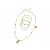 Souza Halskette und Armband Set CALISTA mint
