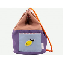 Sticky Lemon Matchsack COLOUR BLOCK altrosa-lila