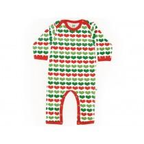 Sture & Lisa Pyjama / Jumpsuit mit Herzen
