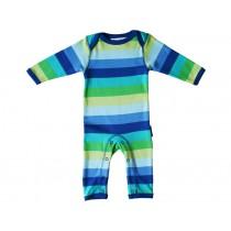 Toby Tiger Schlafanzug mit blauen Streifen