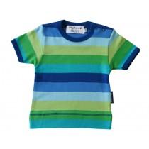 Toby Tiger Kurzarm T-Shirt mit blauen Streifen