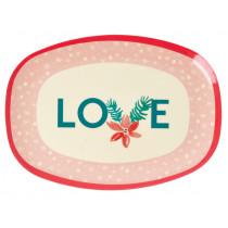 RICE Servierteller Weihnachten 2020 LOVE