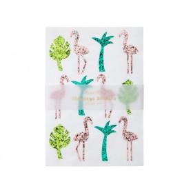 Meri Meri 120 Sticker FLAMINGO